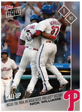 2017 Topps Now #680 INSIDE THE PARK HR HIGHLIGHTS PHILLIES VICTORY NICK WILLIAMS