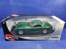 Hot Wheels 2000 TVR Speed 12 1:18 Scale Diecast Concept Car Cerbera Green