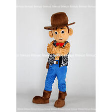 new  Toy Story Woody Character Cowboy Cartoon Mascot Costume Fancy Dress