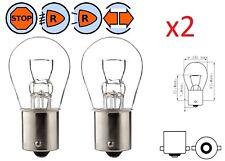 2X LAMPADINA 12V 21W BA15S STOP AUTO MOTO LAMPEGGIANTE LAMPADA