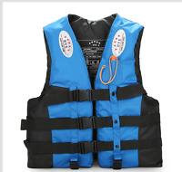 Polyester Universal High Visibility Neon Adult & Kids Life Jacket PFD Ski Vest
