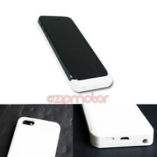 NEW 2200MAH BACKUP BATTERY CHARGER EXTENDED POWER CASE WHITE FOR IPHONE 5 5S