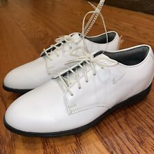 New listing Nike Air Golf Shoe Vintage Oxford Formal Black And White Shoe Size 8.5