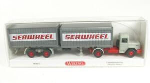 Magirus Deutz Conteneur Tracteur Seawheel 1970-1974 1:87 WIKING