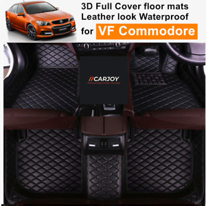 3D Moulded PU leather Waterproof Car Floor Mats for Holden VF Commodore Sedan