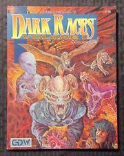 1992 DARK RACES Compendium Volume 1 NM GDW Role Playing RPG