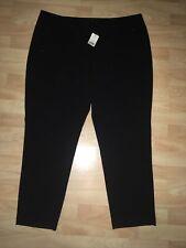 Ladies Black Smart Trousers Size 20 BNWT George Asda Formal Work Wear Zip