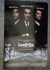 Goodfellas 1990 Robert De Niro Scorsese Liotta Pesci Original One Sheet Poster