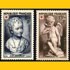 2 CROIX ROUGE FRANCE 1950 - N° 876/877 - NEUFS **