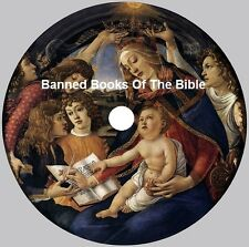 Banned Books Of The Bible-Over 500 files-4 cd's (PDF)  in 4 Vol-LOST Forbidden