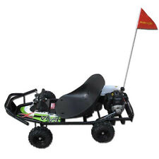 ScooterX Baja 49cc Off Road Go Kart that goes 30mph  Go Cart Scooter black/green