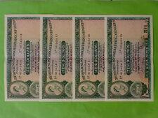 Hong Kong HSBC $10 (aUNC, light center fold) 31st March 1977, 4pc Running Number