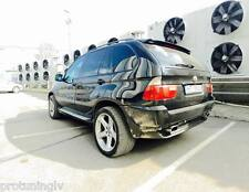 BMW X5 e53 4.8is pair Muffler Exhaust Tip Tail Extension Pipe is tips 4.6is 4.8