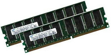 2x 1GB 2GB RAM Speicher HP Business Desktop dx6100 DDR PC3200 400Mhz 184Pin