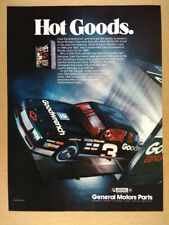 1988 Dale Earnhardt GM Goodwrench Monte Carlo SS vintage print Ad