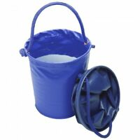 Tough 1 Blue Collapsible Water Bucket horse tack equine 72-1819
