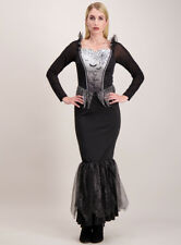Halloween H18 ADULT Ladies Bat Dress Fancy dressing up Costume size 12-14