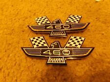 1963 1964 FORD GALAXIE 460 EAGLE PERFORMANCE BIRD EMBLEMS SET PAIR NEW VINTAGE