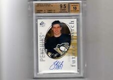 2005-06 Sp Authentic Sidney Crosby Autograph Rookie Card  /999 BGS 9.5