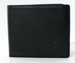 Portafoglio uomo Calvin Klein Jeans Wallet CK in pelle art. KM1144, nero