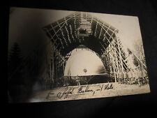 AK Staffel Ballon in Halle in Russland 1917 Zeppelin
