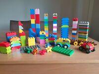 Lego duplo bundle vehicles 1.1kg of duplo mixed bricks bright colours fun
