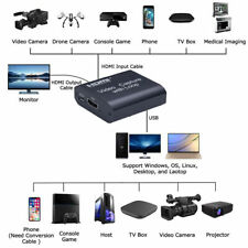 HDMI Video Capture Cards Screen Record USB2.0 1080P 60FPS Game Capture Device UK