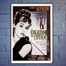 Movie Poster 35x50 CM - Breakfast at Tiffany's - Colazione Da Tiffany