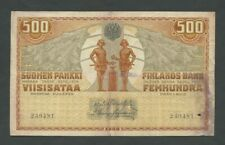 More details for finland 500 markkaa 1909 p23  banknotes