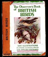 Rare 1949 The OBSERVER'S BOOK of BRITISH BIRDS (undated at publication; see ad)