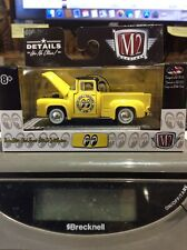 M2 Machines 1956 Ford F-100 Mooneyes Yellow 1 of 7200