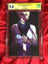 CGC SS 9.8~SOMETHING IS KILLING THE CHILDREN #11~1st PRINT SIGNED JENNY FRISON~~