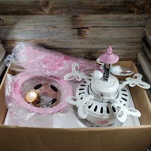 """44"""" Hunter Dreamland Ceiling Fan 23781 Pink Flowers & Butterflies Girl's Bedroom"""