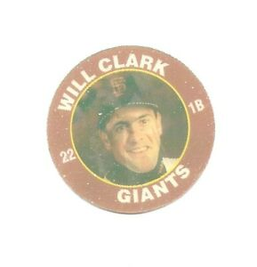 Will Clark 1992 Superstar Action Coin 7/11 San Francisco Giants 20 Of 26