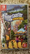 Rollercoaster Tycoon Adventures (Nintendo Switch) Brand New and Sealed!