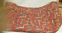 Longaberger 25th Flag Magazine Basket Old Glory Stand Up Fabric Liner