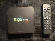 M95 Quad Core Android 7.1 TV BOX Mini PC H.265 WiFi 4K Media 8GB