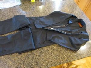 Red Kap unlined Coveralls Twill Mens 36 Reg CT10BK2 long sleeve NWOT Work Black