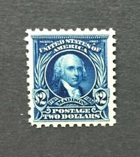 mystamps  US 479, $2 Madison 1917, Mint HR, OG