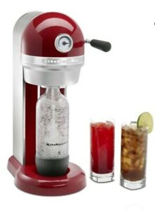 KitchenAid Sparkling Beverage Maker Empire Red KSS1121ER