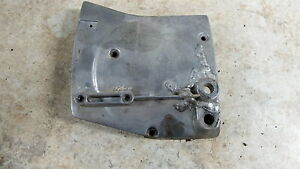 82 Harley Davidson XLH 1000 ironhead Sportster front sprocket cover left engine