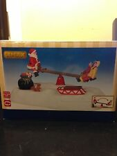 Lemax Village Collection Santa Seesaws, #64042