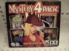 MYSTERY 4 PACK VOLUME 2  (PC Games, 2010)