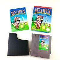 NES Open Tournament Golf NES Nintendo Game Original Mario Vintage CIB w Manual