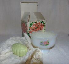 Vintage 1970s Avon Hostess Blossoms Flower Frog Soap Dish Mib Nos