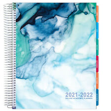 Deluxe 2021 2022 Planner 85x11 Seaside Watercolors