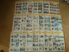 1959 Tintin Journals with Tintin in Tibet - sold individually - No.1-45.