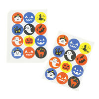 120pcs Halloween Series Seal Stickers DIY Gifts Labels Halloween Party DecorHGU
