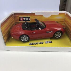 Burago BMW Z8 1/18 Red No Box
