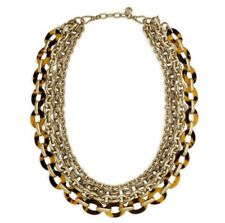 Chloe and Isabel Tortoise + Chain Convertible Necklace N373 - NEW in dust cover